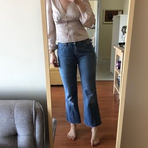 Vintage Levi's high-waisted jeans